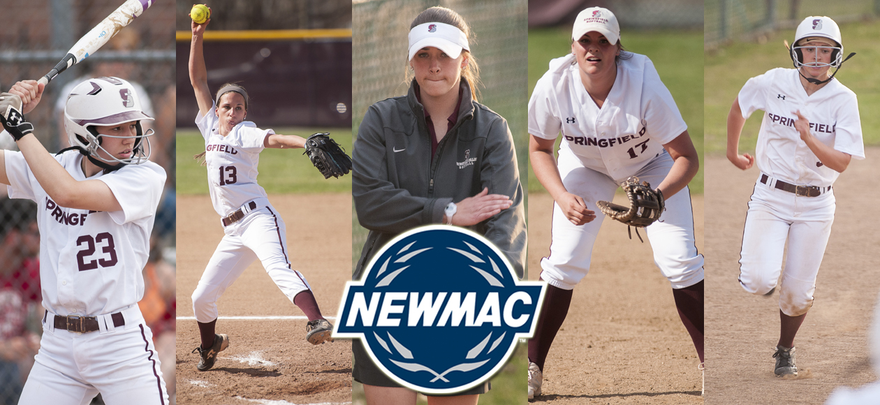 Drobiak, Loda and Bowen Highlight NEWMAC Softball Post-Season Honors
