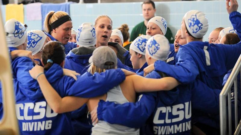 Swim & Dive Named 2013 CSCAA DI Scholar All-America