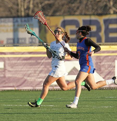 Bard takes down Sage 17-11 in women's lacrosse action despite seven points by Koralus
