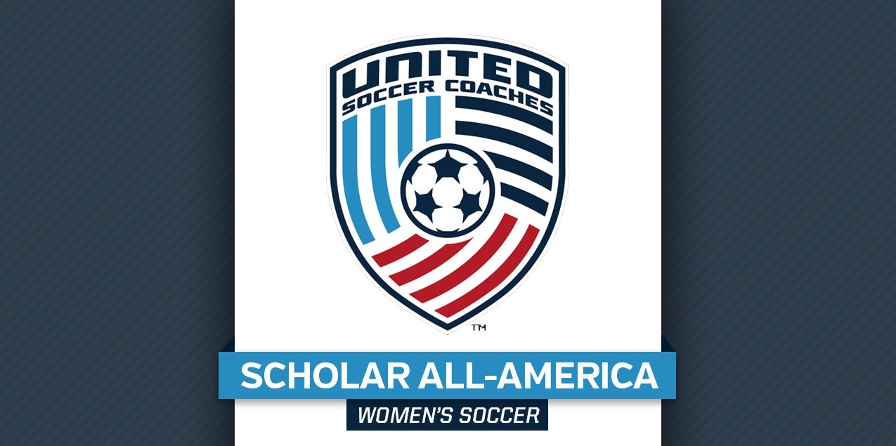 Three Women's Soccer Student-Athletes Earn Scholar All-America Honors