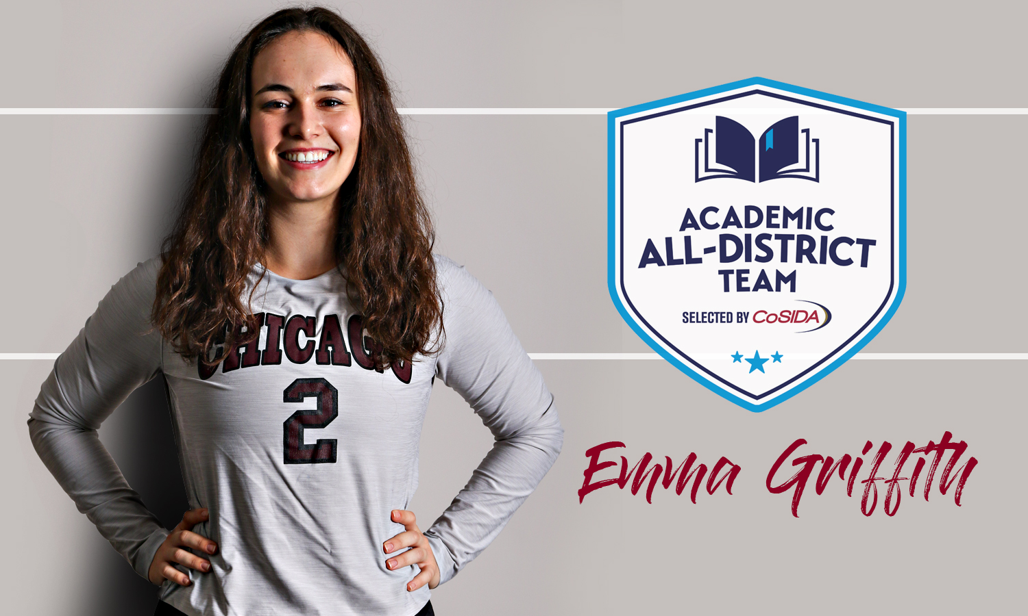 Emma Griffith Earns Second-Straight CoSIDA Volleyball Academic All-District Honor