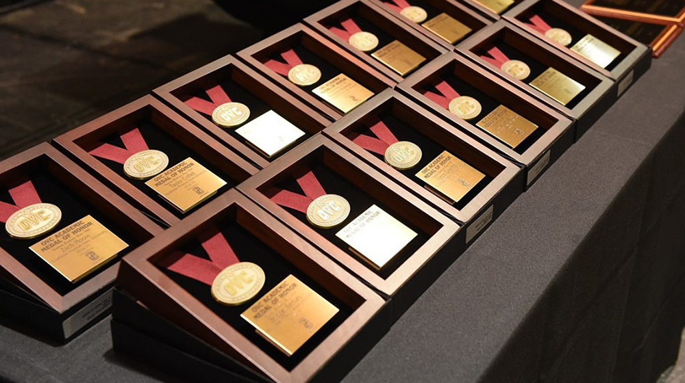 Nineteen Golden Eagle student-athletes earn OVC Academic Medal of Honor for 2018-19