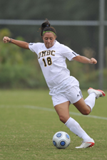 Christine Sadowski's second goal of the season tied the score at 1-1 in the second half.