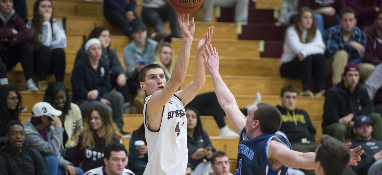 First-Years Lead Men's Basketball Past Emerson, 82-62