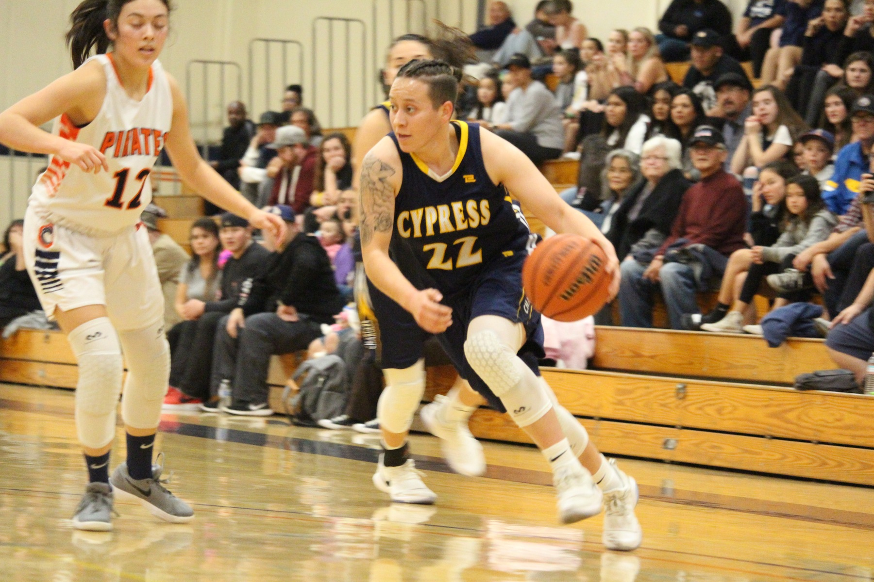Lady Chargers Cruise Past Pirates, 72-51