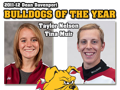 "Muir & Nelson Named ""Bulldogs Of The Year"""