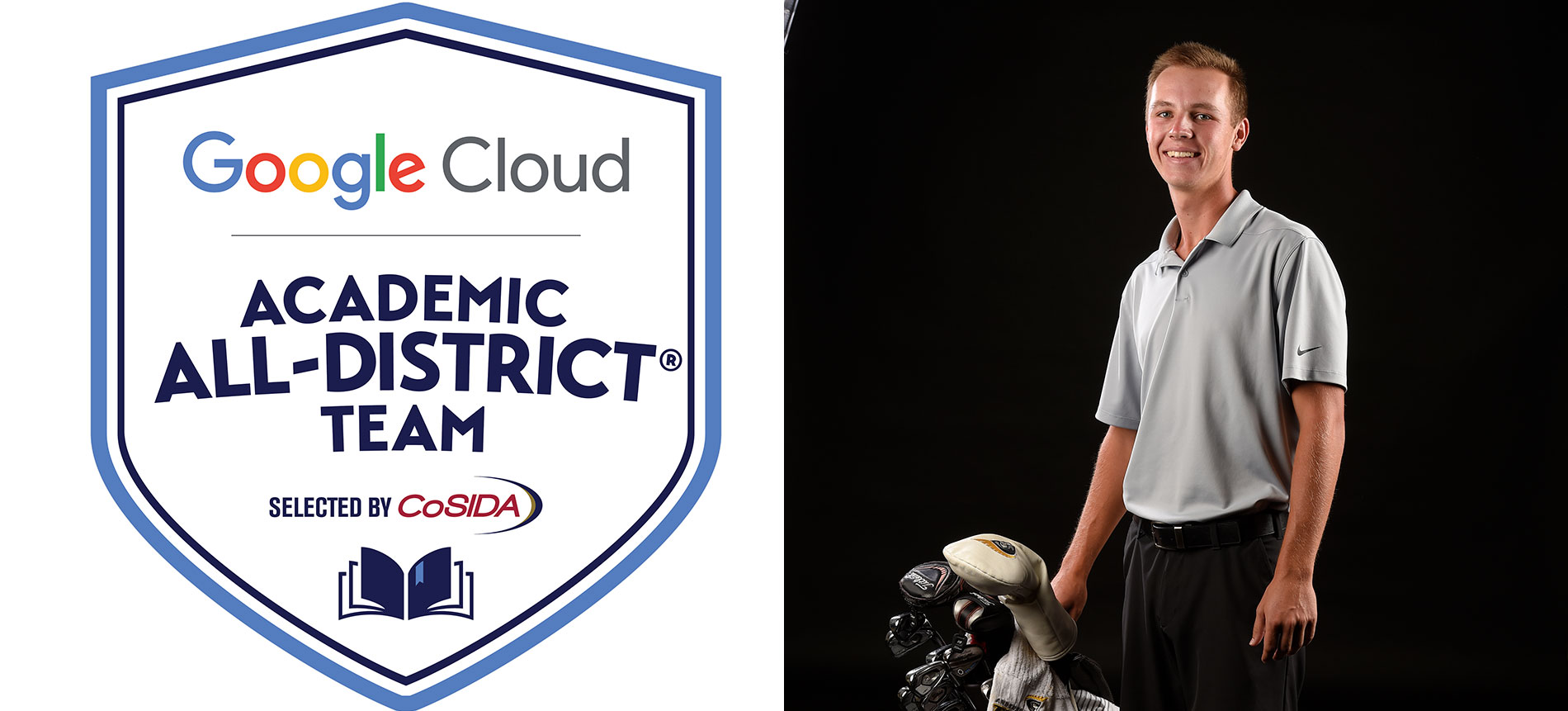 Colt Martin Earns Google Cloud Academic All-District Honors