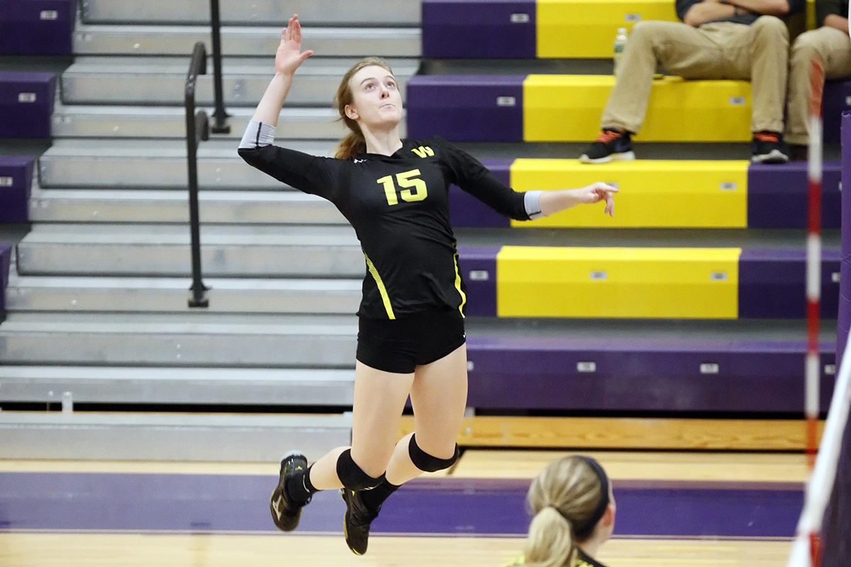 Streak Busters:  Women's Volleyball Ends Series Skid Against Western New England