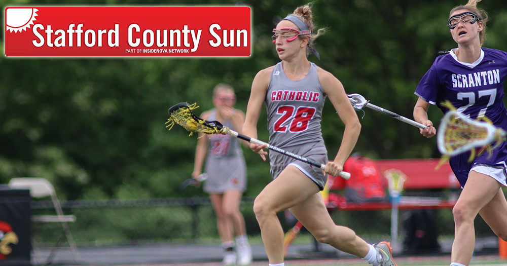 STAFFORD COUNTY SUN: Maupin has Strong Freshman Season