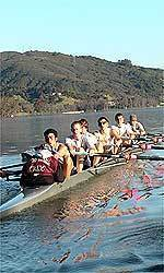 Men's Crew Team Rows a Strong Race in Last Weekend's Race
