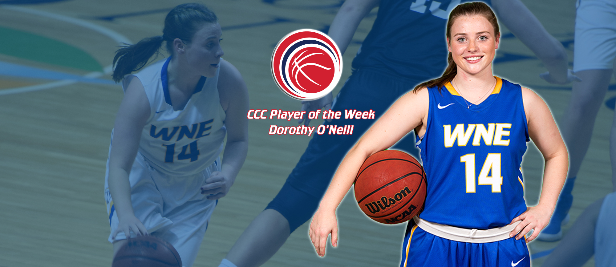 Dorothy O'Neill Earns First Career CCC Player of the Week Award