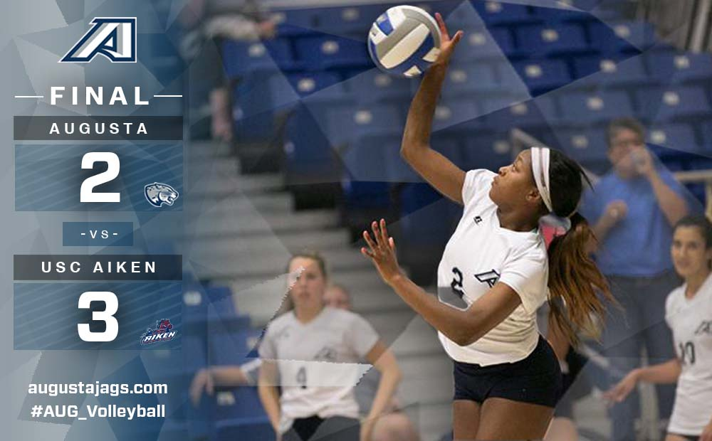Augusta Falls In Five Sets To USC Aiken To Wrap Regular Season
