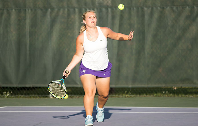 Women's Tennis Drops Three Close Matches in 6-3 Loss at Saint Anselm