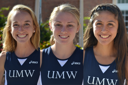 Landy, Braney, and Parent Named to All-CAC Women's Cross Country Team