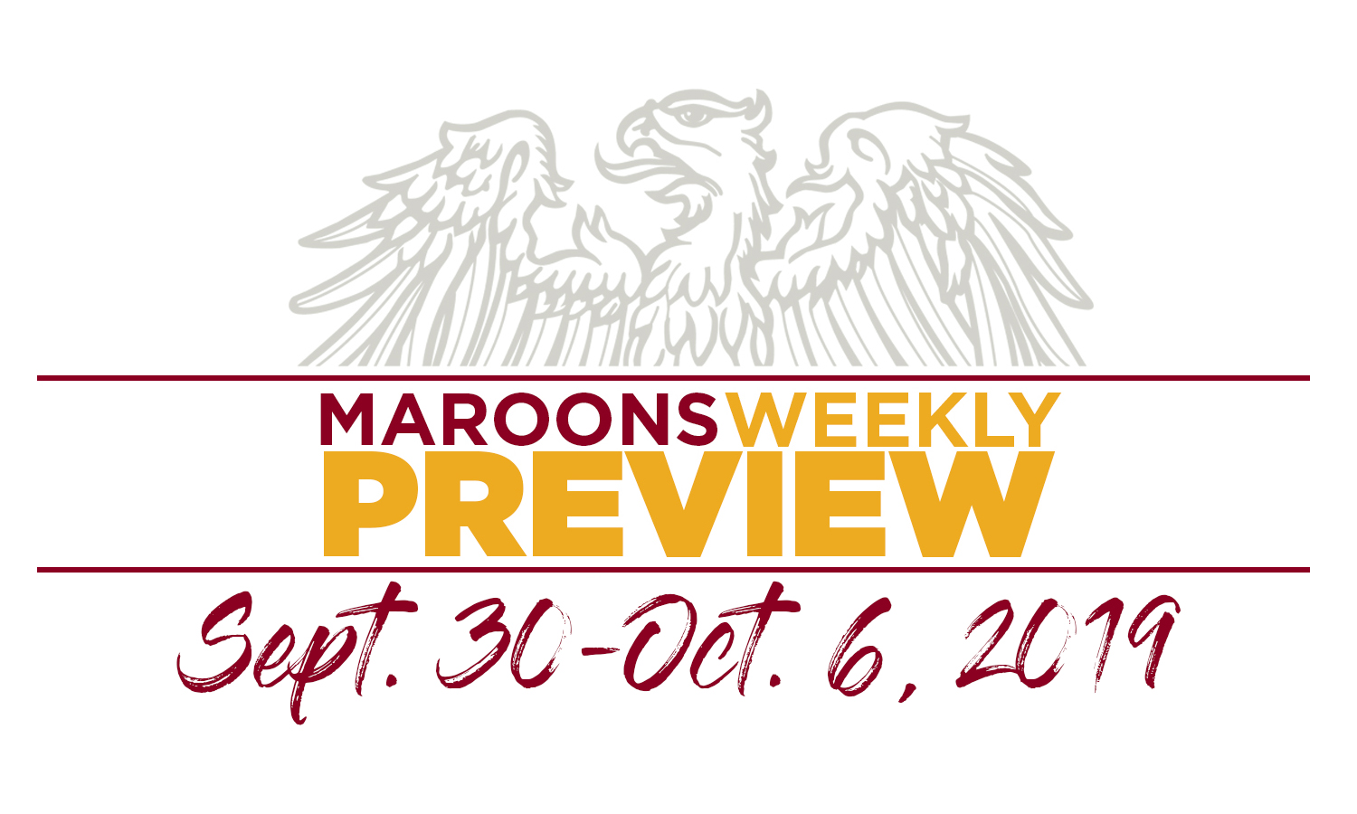 UChicago Athletics Preview: September 30 - October 6