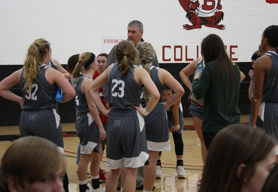 Blackburn Women's Basketball team is defeated by Spalding University