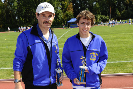 Only Two Div. III Runners Finish Ahead of Negreann