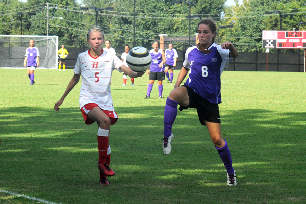 Huntingdon women's soccer picks up first win of season