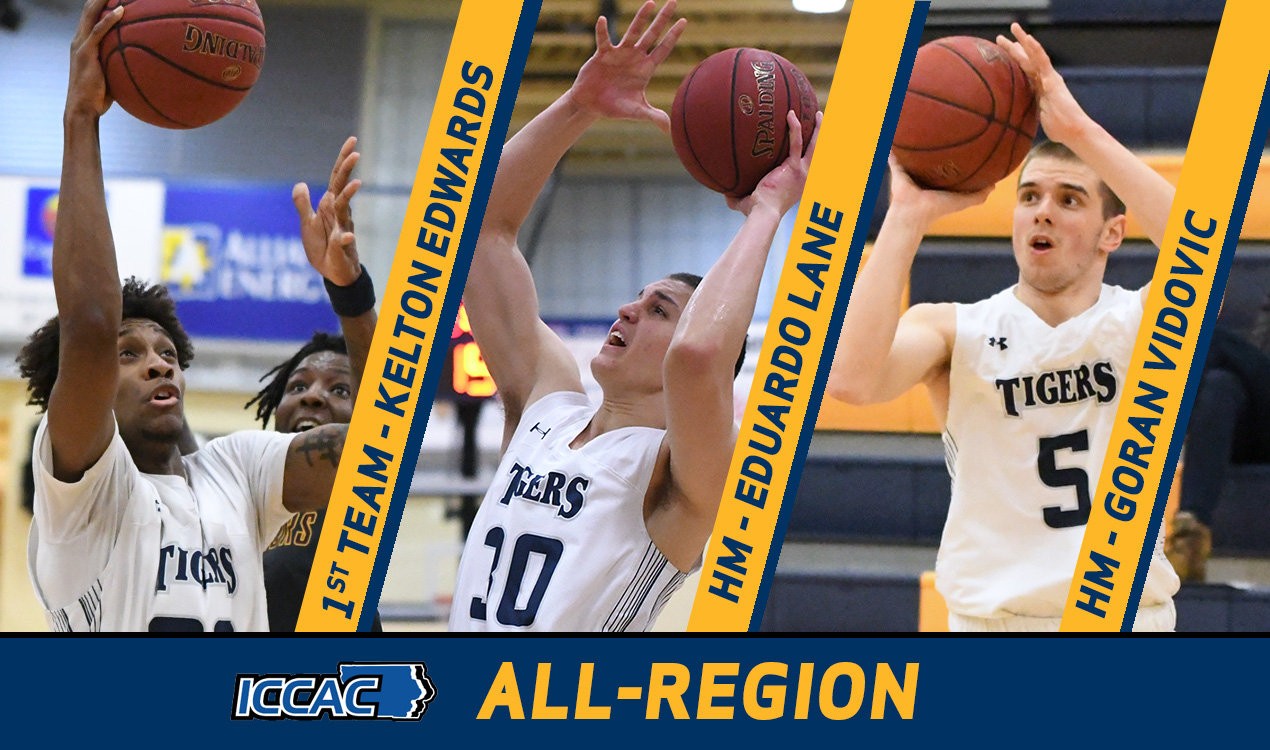Three Tigers Earn All-ICCAC