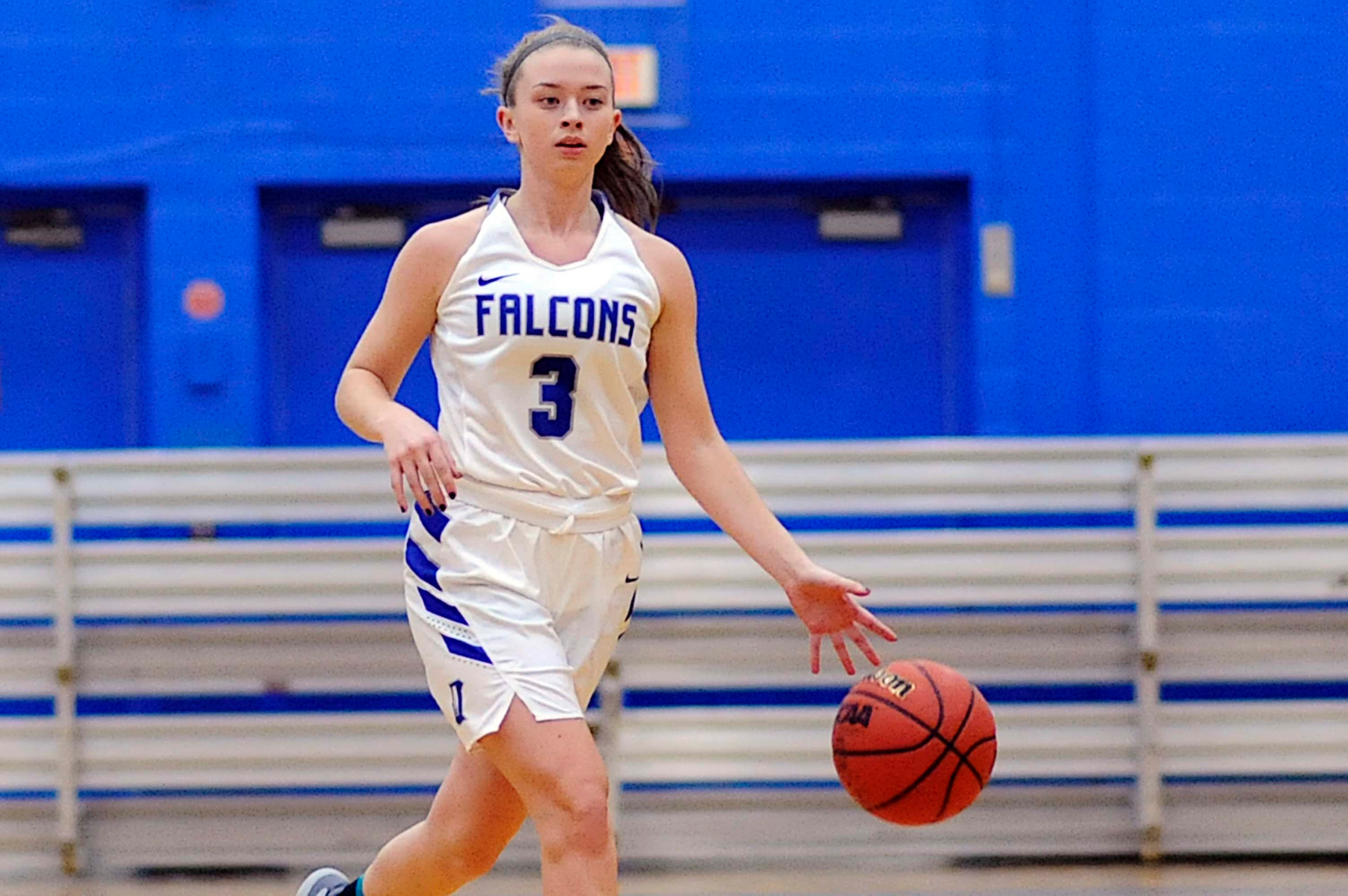 Balanced Attack Leads Falcons over Anna Maria, 83-72