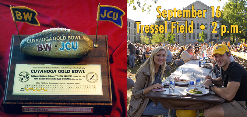 Football Hosts Crosstown Rival John Carroll in Gold Bowl Trophy and Community Day Game