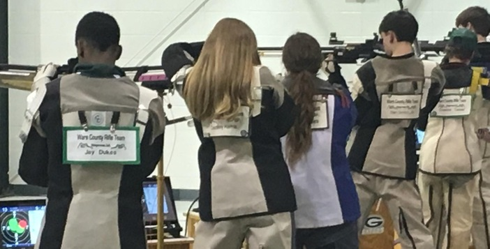 Rifle Team Defeats St. Vincent to Remain Undefeated