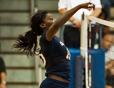 Three set victory over Brevard breaks volleyball's skid