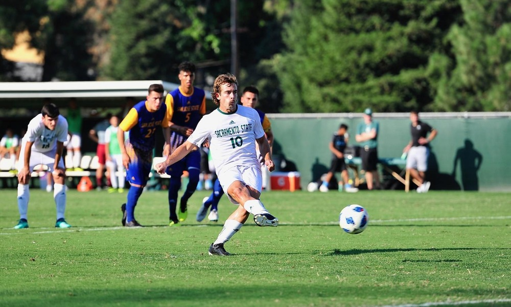 DOMINANT SECOND HALF NOT ENOUGH TO CATCH SAN JOSE STATE AS MEN'S SOCCER FALLS AT HOME