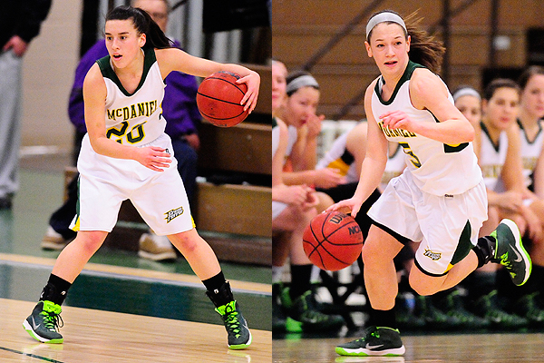Two earn All-CC women's basketball honors