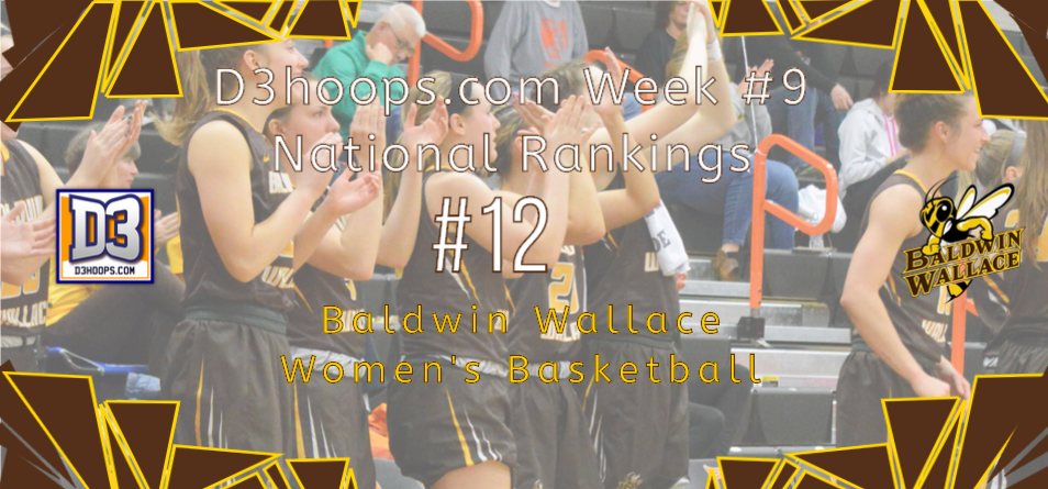 Women's Basketball Rebounds in D3Hoops.com Poll