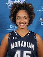 Women's Athlete of the Week - Nadine Ewald, Moravian