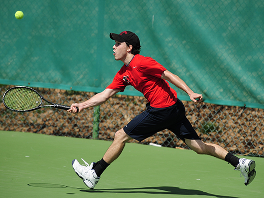 Men's tennis falls in regular-season finale
