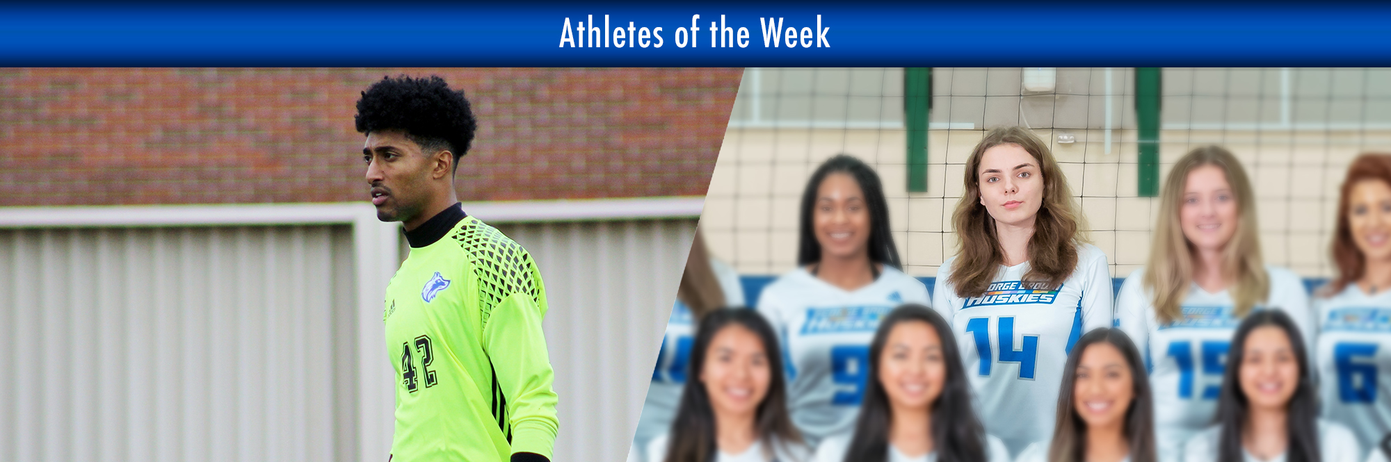 ALINA KARPOVNIKOVA, JORDAN SODHI NAMED HUSKIES ATHLETES OF THE WEEK