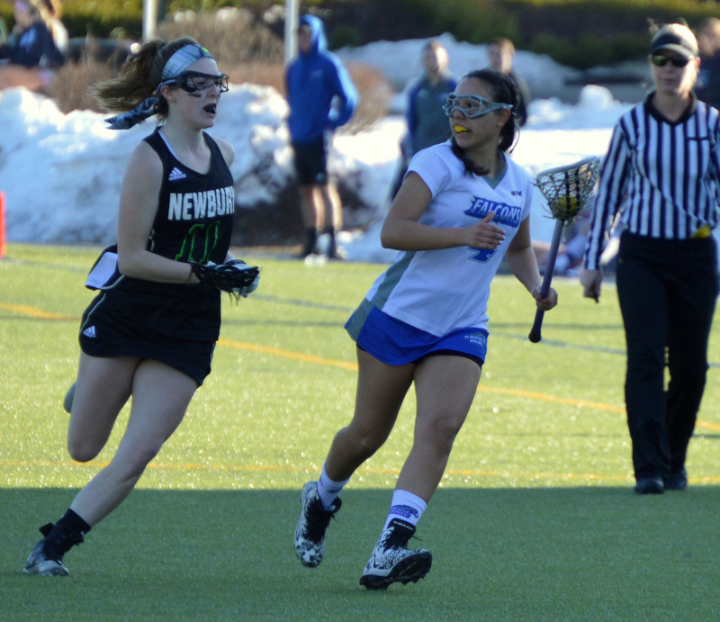 Zelaya Nets Hat Trick in Falcons' Loss to Mount Saint Vincent