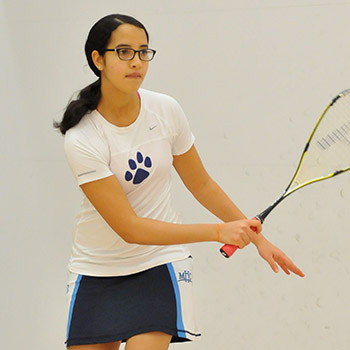 #23 Squash Shoulders 7-2 Loss to #17 Amherst
