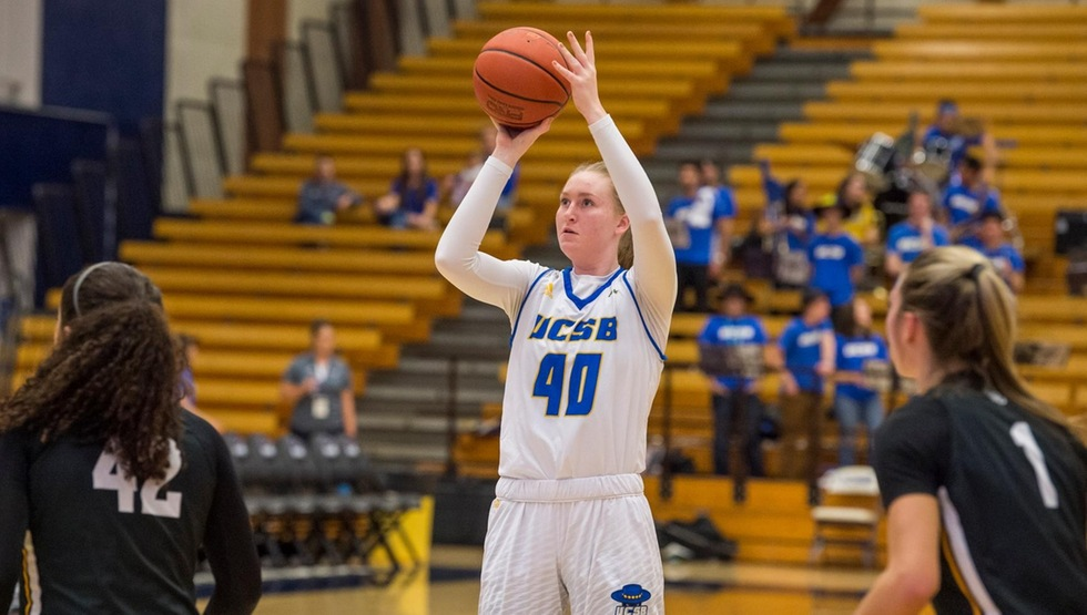 Freshman forward Megan Ormiston scored a career-high 10 points in UCSB's 73-60 loss at UC Riverside.