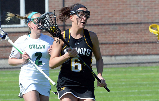 Paradis Sets Seasonal Marks in Women's Lacrosse's Loss at Gordon