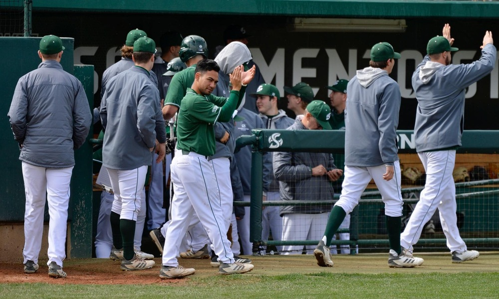 BASEBALL COMPLETES SWEEP OF TOWSON WITH TWO MORE WINS SATURDAY