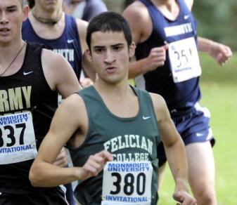 Albano Second, Felician Ninth At Monmouth