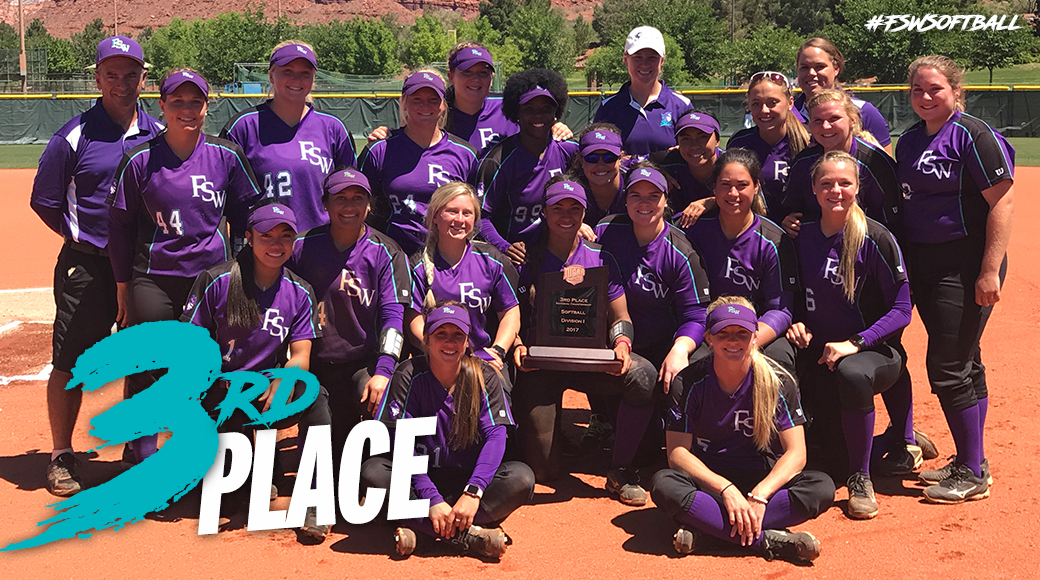 #FSWSoftball Finishes Third At The 2017 NJCAA National Tournament