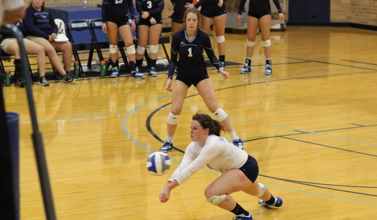 Westminster Volleyball Handles Griffins