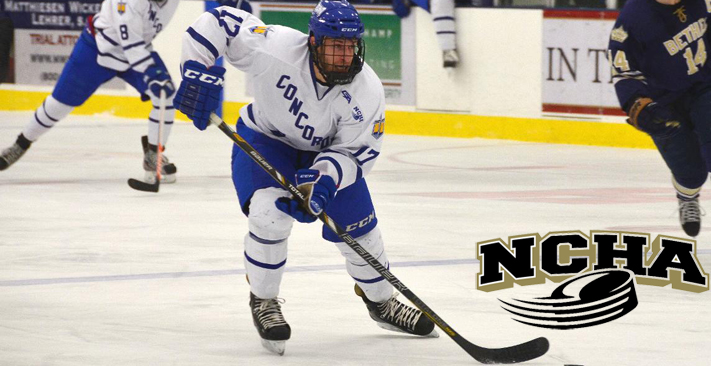 Stuermer's big weekend earns NCHA Offensive Player of the Week award