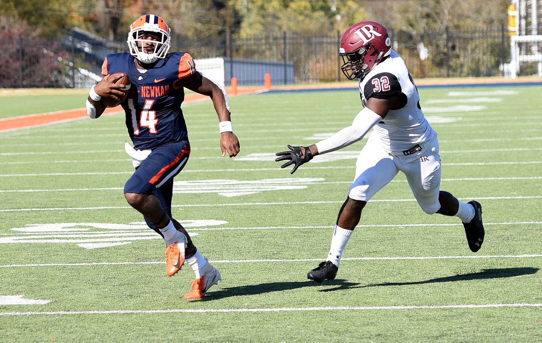 Turnovers undo Eagles in 41-20 loss to No. 21 Lenoir-Rhyne