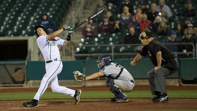 HUNLEY HEROICS LEAD BASEBALL PAST NEVADA 7-4 AT RALEY FIELD