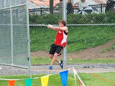 Brubaker earns a 1st place finish for CUA at Goucher Invite