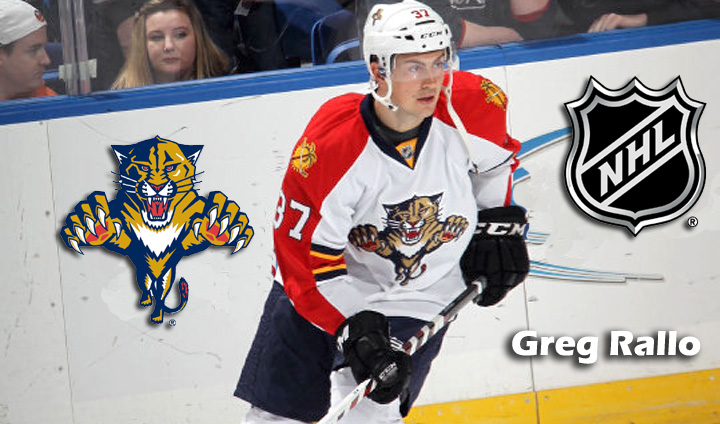Former Bulldog Greg Rallo Back In NHL With Florida Panthers
