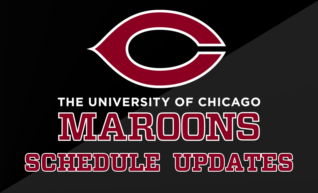 UChicago Baseball to Start Saturday Doubleheader at 1:00 PM
