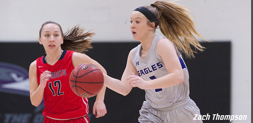 Women's Basketball Team Survives Late Run By Arlington Baptist College