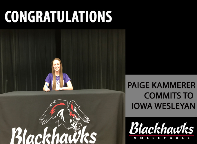 Kammerer Commits to Iowa Wesleyan Volleball