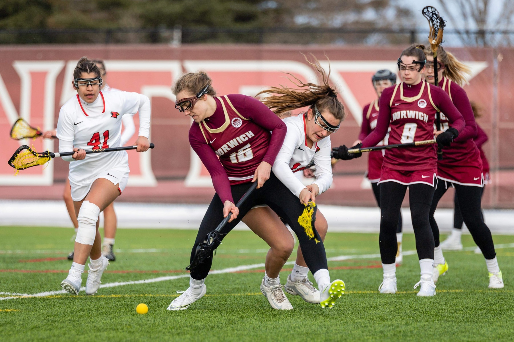 Women's Lacrosse: Chargers defeat Cadets by a 17-10 final score